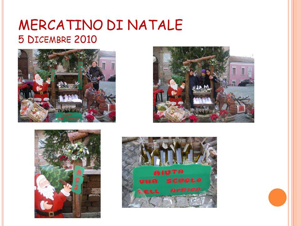 MERCATINO DI NATALE 5 Dicembre 2010