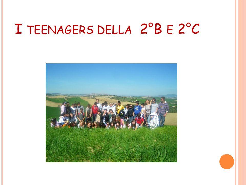 I teenagers della 2°B e 2°C