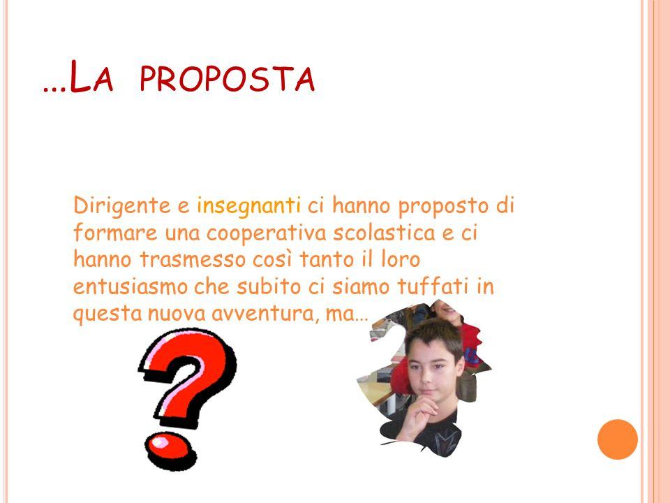 …La proposta