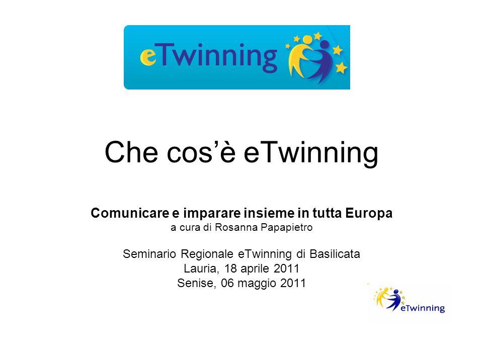 Che cos'è eTwinning Comunicare e imparare insieme in tutta Europa