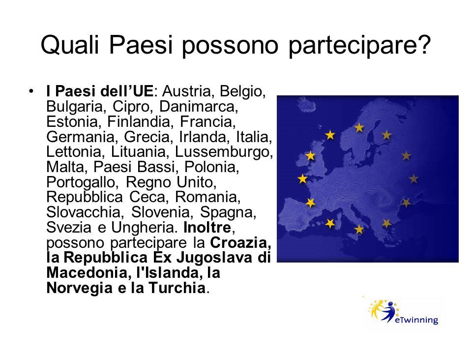 Quali Paesi possono partecipare