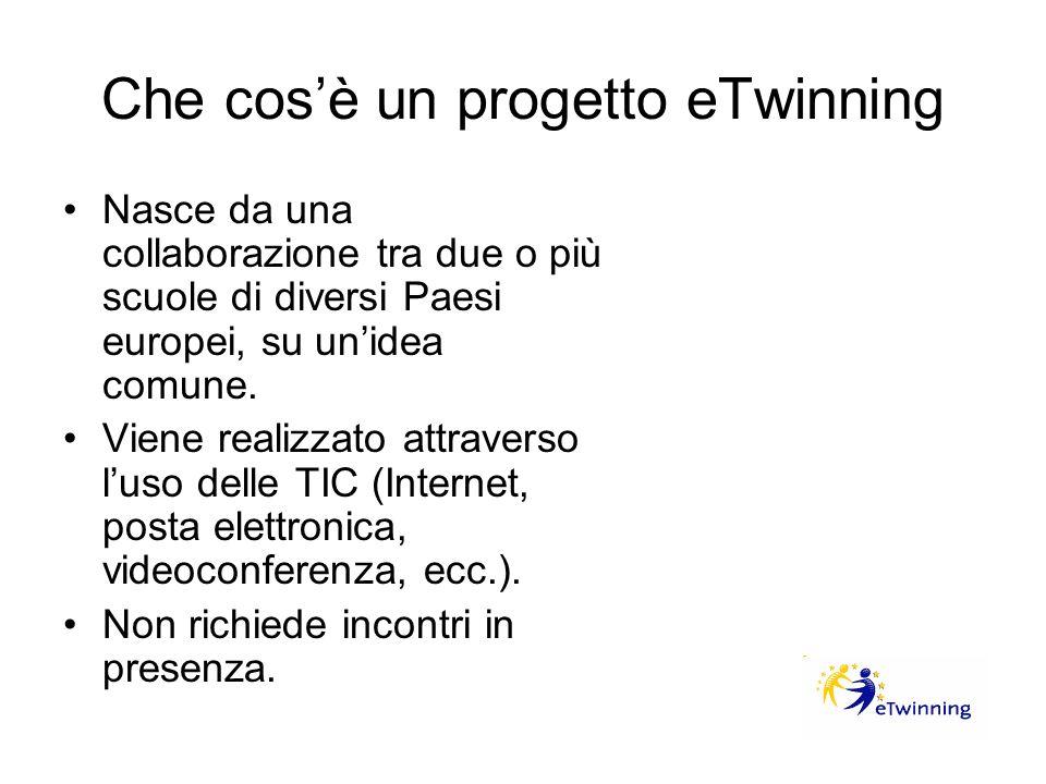 Che cos'è un progetto eTwinning