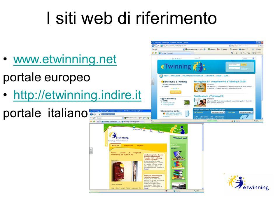 I siti web di riferimento