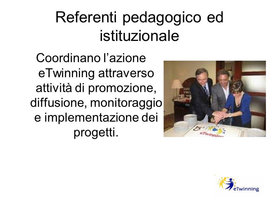 Referenti pedagogico ed istituzionale