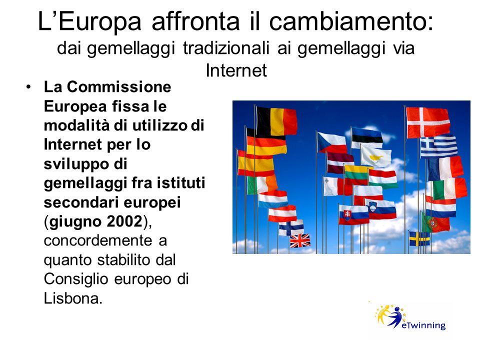 L'Europa affronta il cambiamento: dai gemellaggi tradizionali ai gemellaggi via Internet