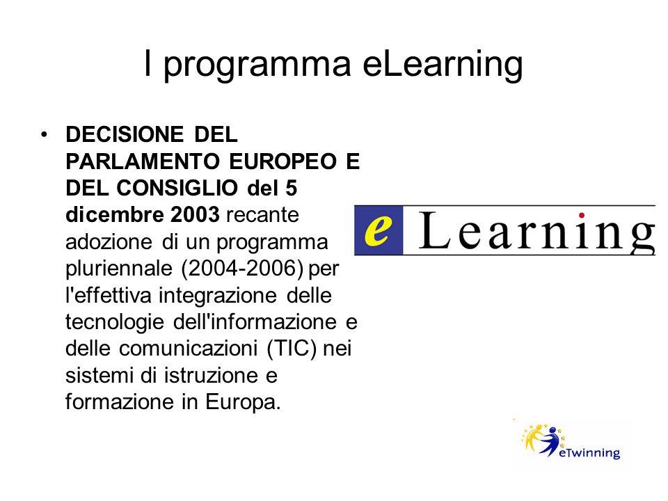 l programma eLearning