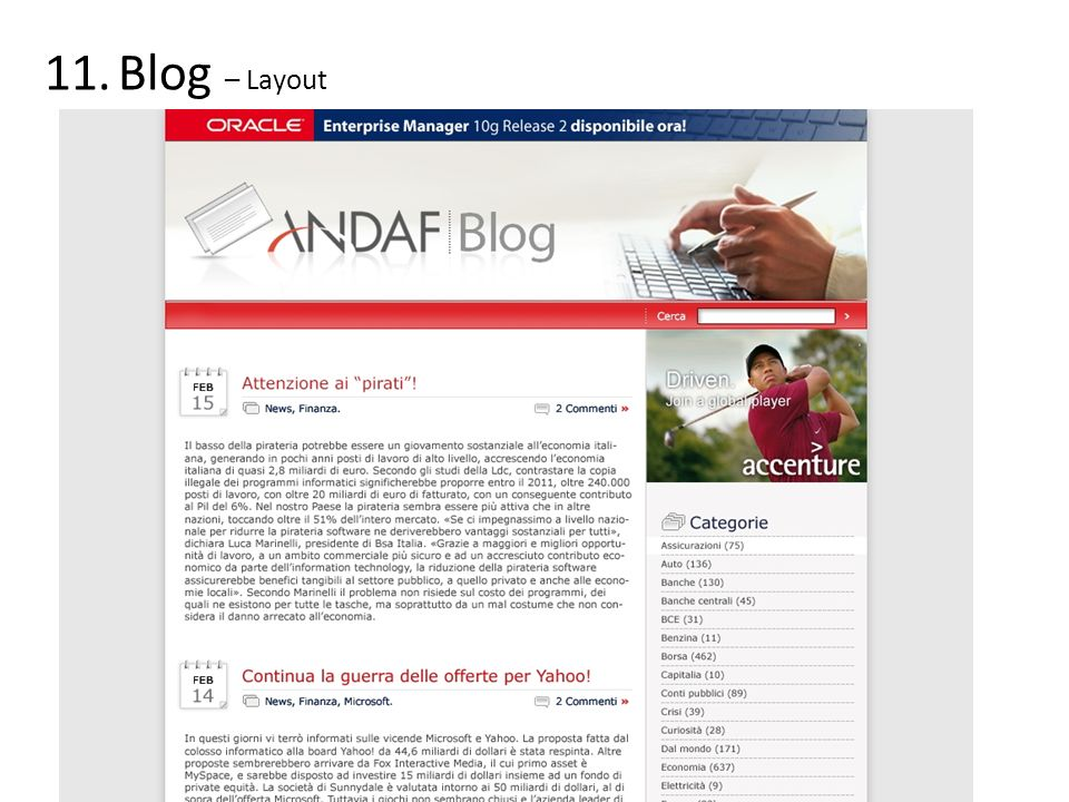 Blog – Layout
