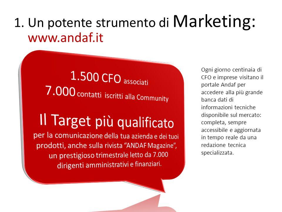 www.andaf.it Il Target più qualificato