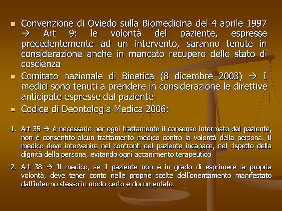 Codice di Deontologia Medica 2006: