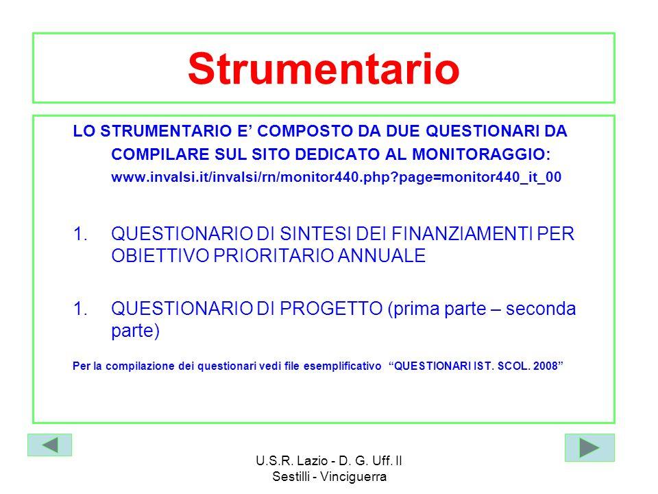 U.S.R. Lazio - D. G. Uff. II Sestilli - Vinciguerra