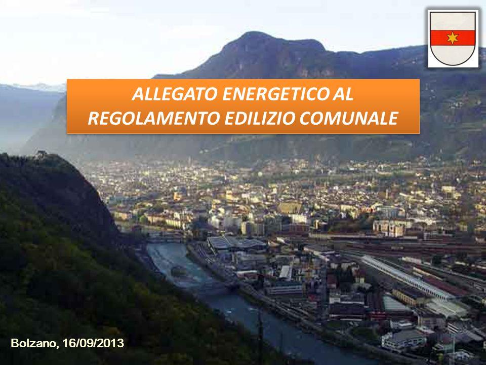ALLEGATO ENERGETICO AL REGOLAMENTO EDILIZIO COMUNALE