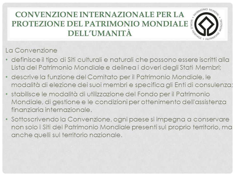 Convenzione Internazionale per la Protezione del Patrimonio Mondiale dell'Umanità