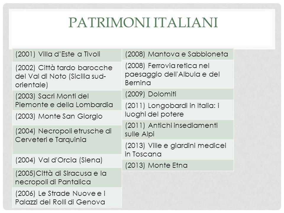 Patrimoni italiani (2001) Villa d'Este a Tivoli