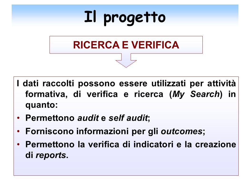 Il progetto RICERCA E VERIFICA