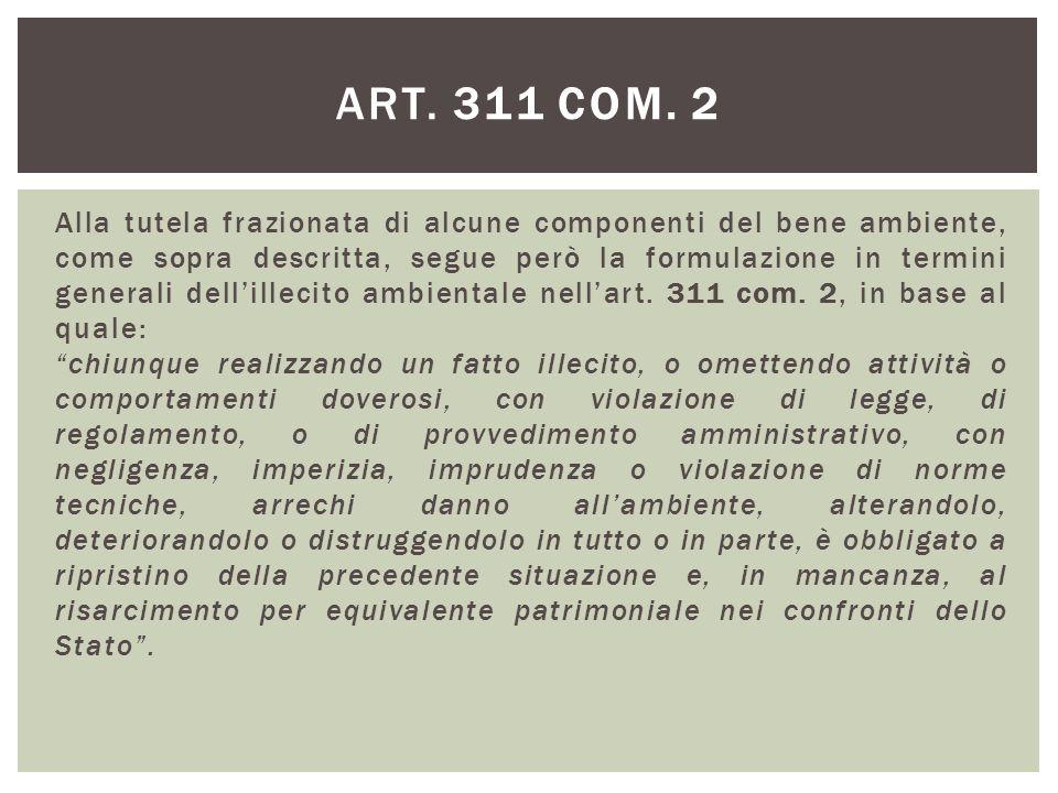 art. 311 com. 2