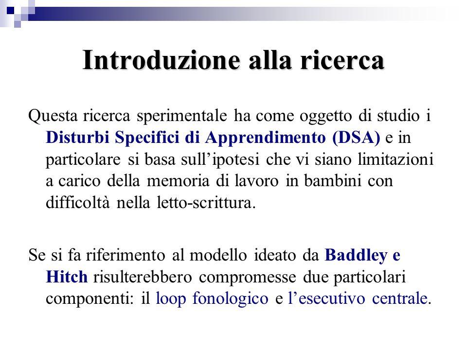 Introduzione alla ricerca