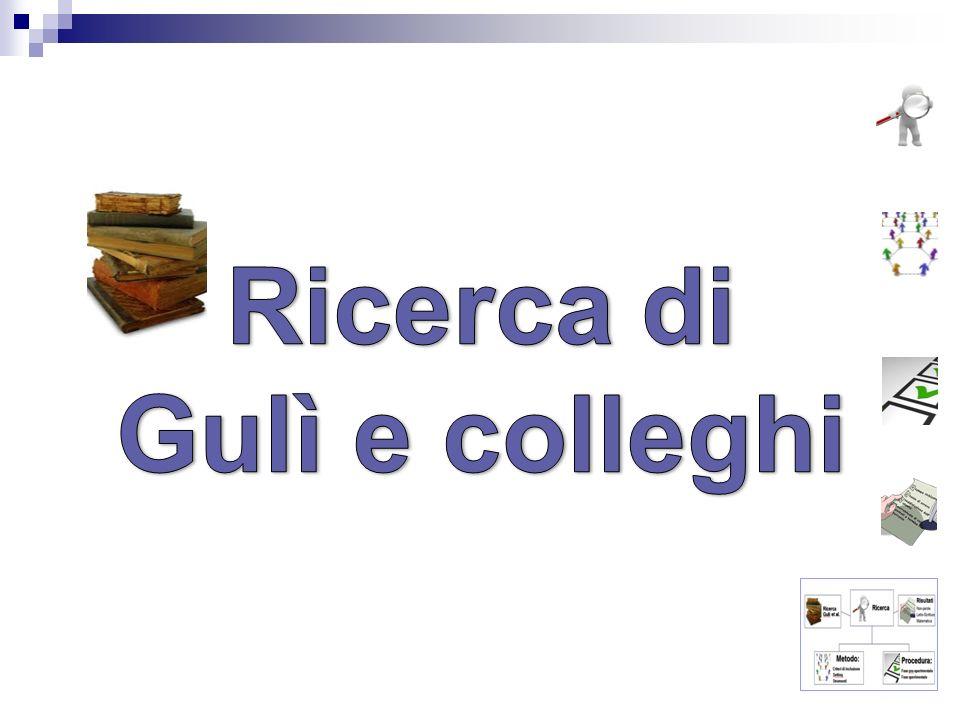 Ricerca di Gulì e colleghi