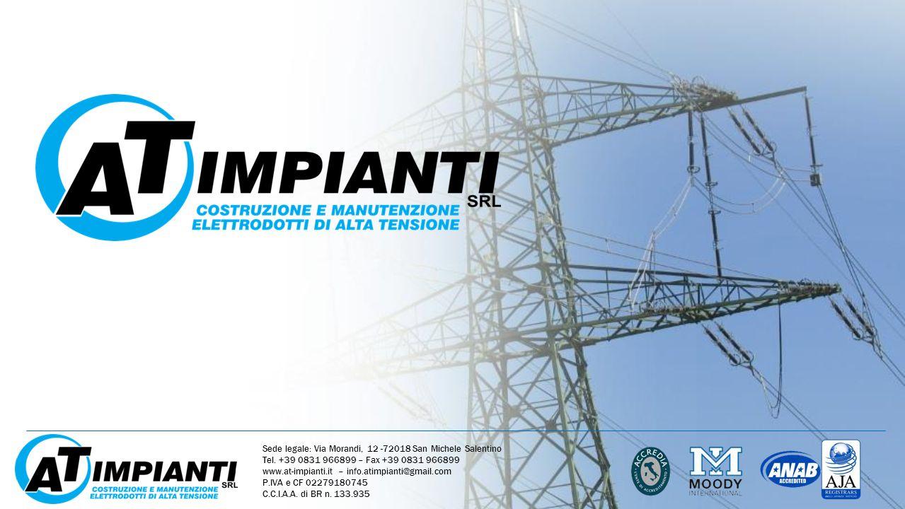 Sede legale: Via Morandi, 12 -72018 San Michele Salentino