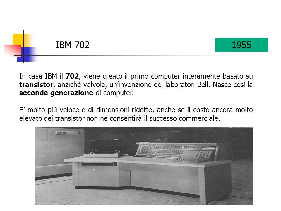 IBM 702 1955.