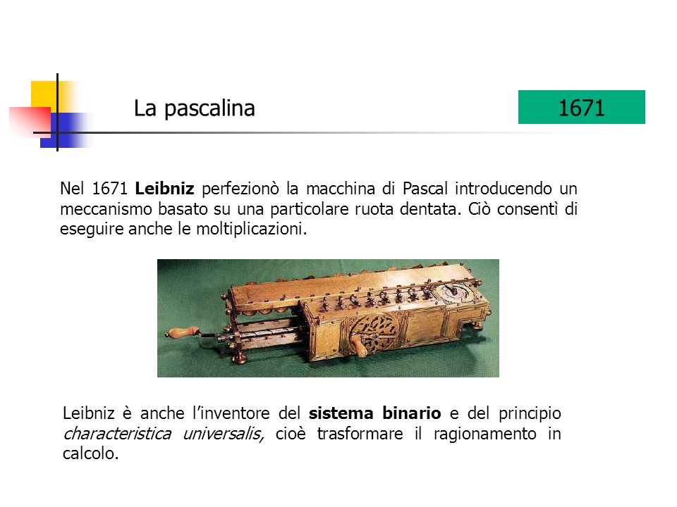 La pascalina 1671.