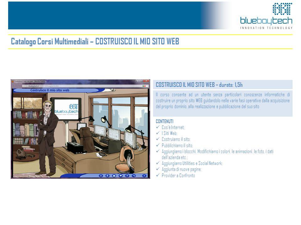 Catalogo Corsi Multimediali – COSTRUISCO IL MIO SITO WEB