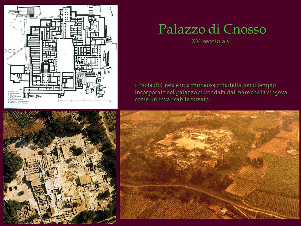 Palazzo di Cnosso XV secolo a.C.