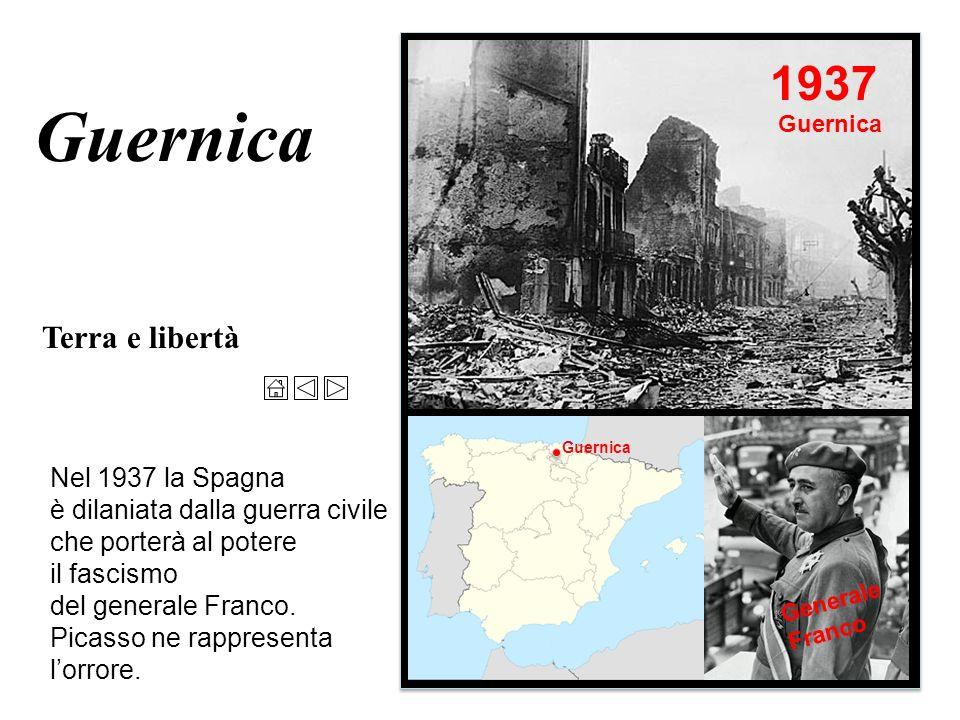 Guernica 1937 Terra e libertà Nel 1937 la Spagna