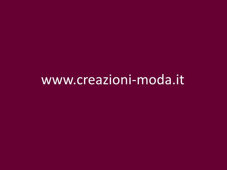 www.creazioni-moda.it Master Collezione Moda www.creazioni-moda. it