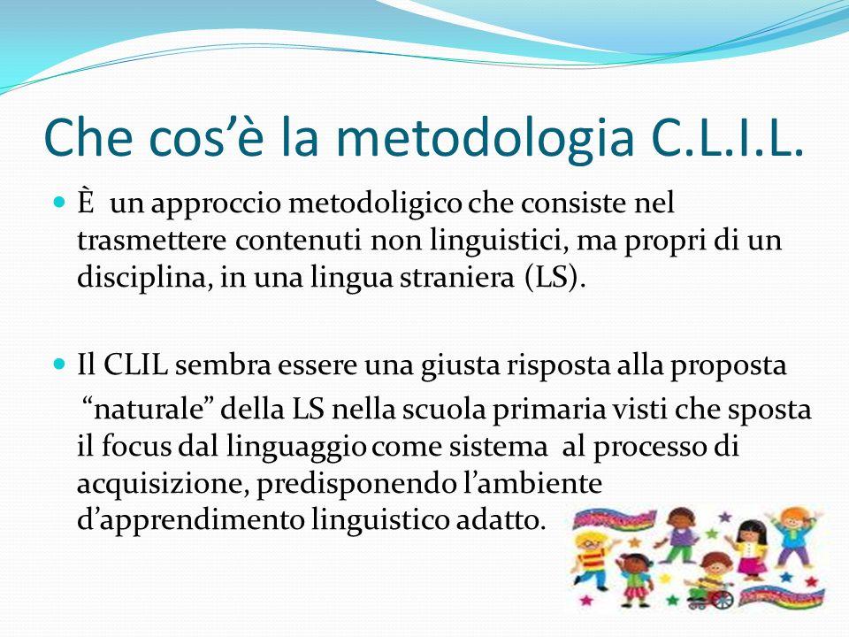 Che cos'è la metodologia C.L.I.L.