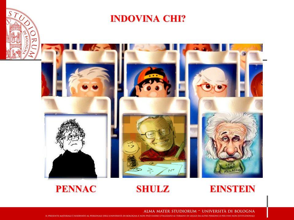 INDOVINA CHI PENNAC SHULZ EINSTEIN