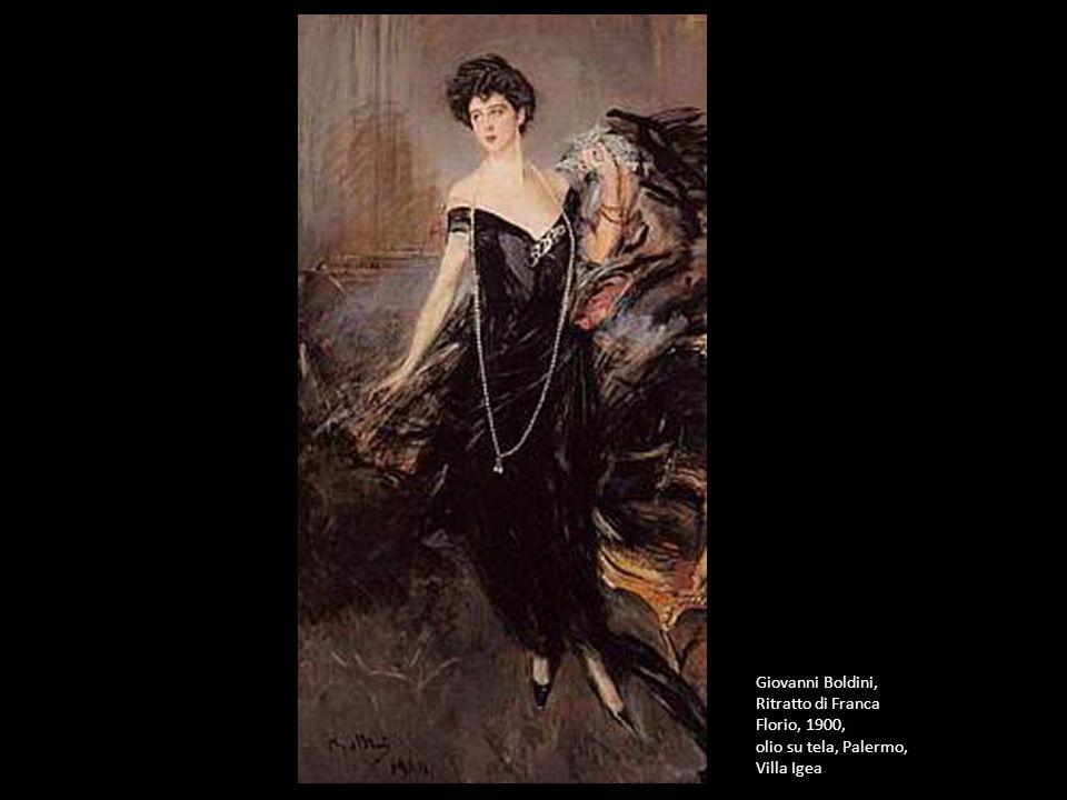 Giovanni Boldini, Ritratto di Franca Florio, 1900,