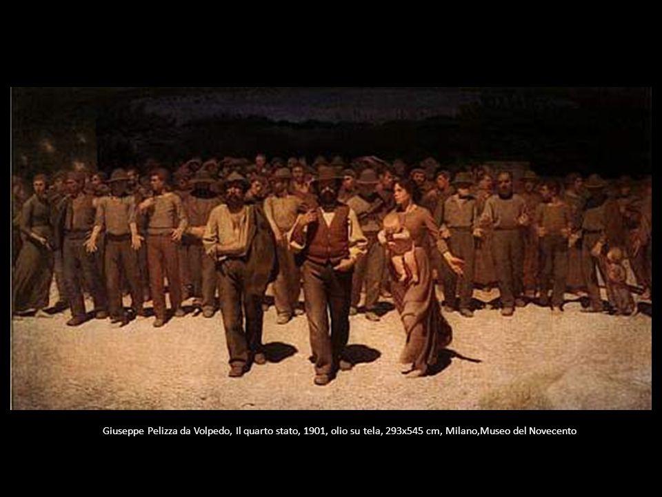 Giuseppe Pelizza da Volpedo, Il quarto stato, 1901, olio su tela, 293x545 cm, Milano,Museo del Novecento