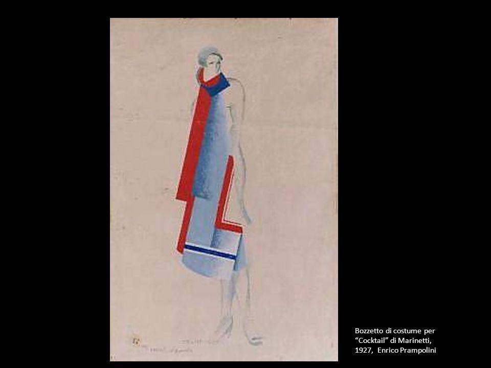 Bozzetto di costume per Cocktail di Marinetti, 1927, Enrico Prampolini