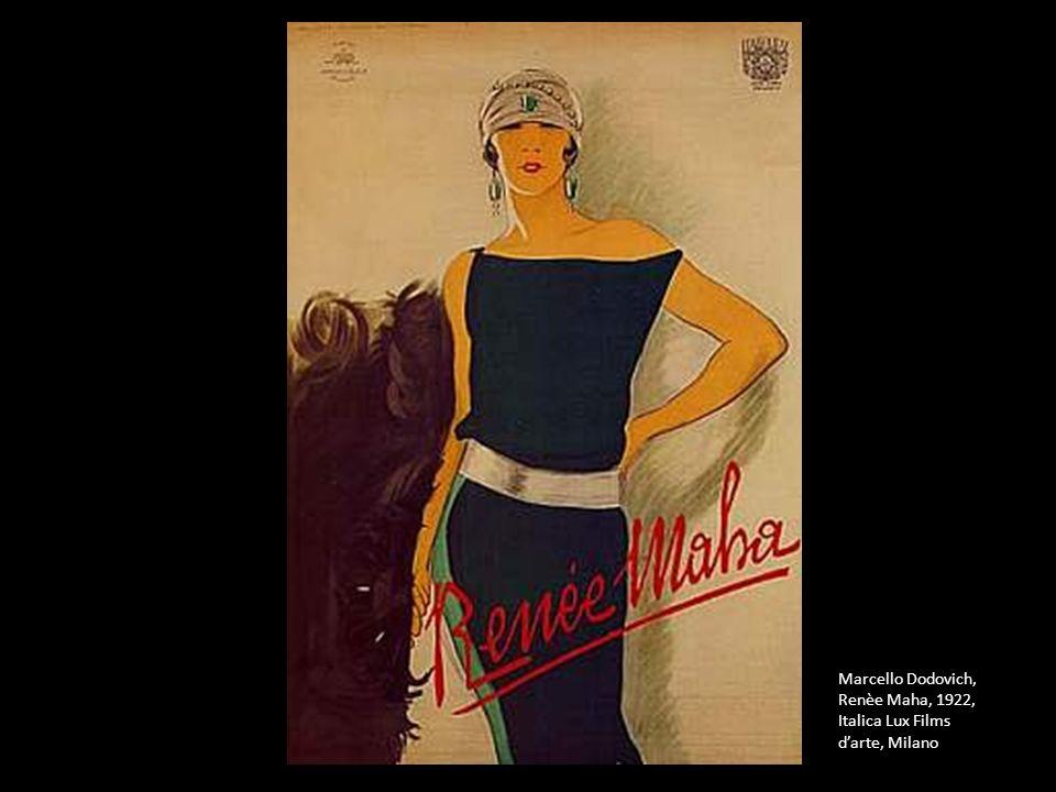 Marcello Dodovich, Renèe Maha, 1922, Italica Lux Films d'arte, Milano