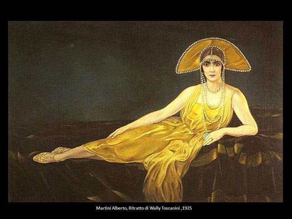 Martini Alberto, Ritratto di Wally Toscanini ,1925
