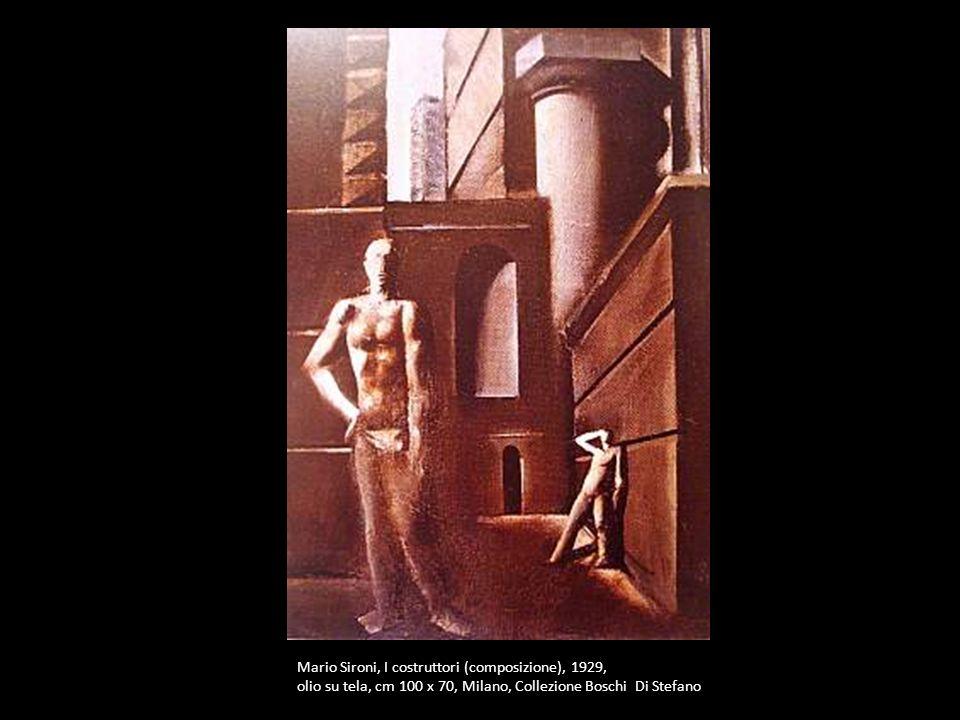 Mario Sironi, I costruttori (composizione), 1929,