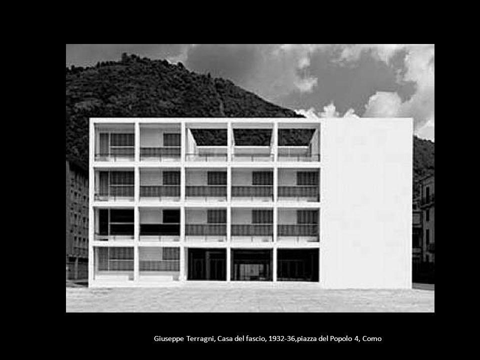 Giuseppe Terragni, Casa del fascio, 1932-36,piazza del Popolo 4, Como