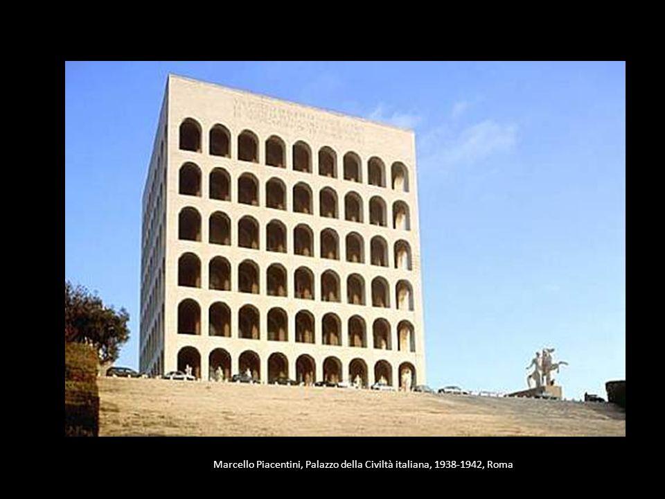 Marcello Piacentini, Palazzo della Civiltà italiana, 1938-1942, Roma