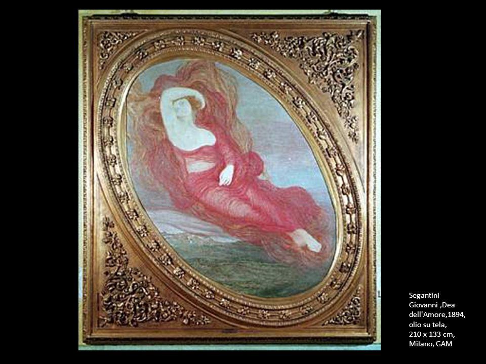 Segantini Giovanni ,Dea dell Amore,1894, olio su tela,