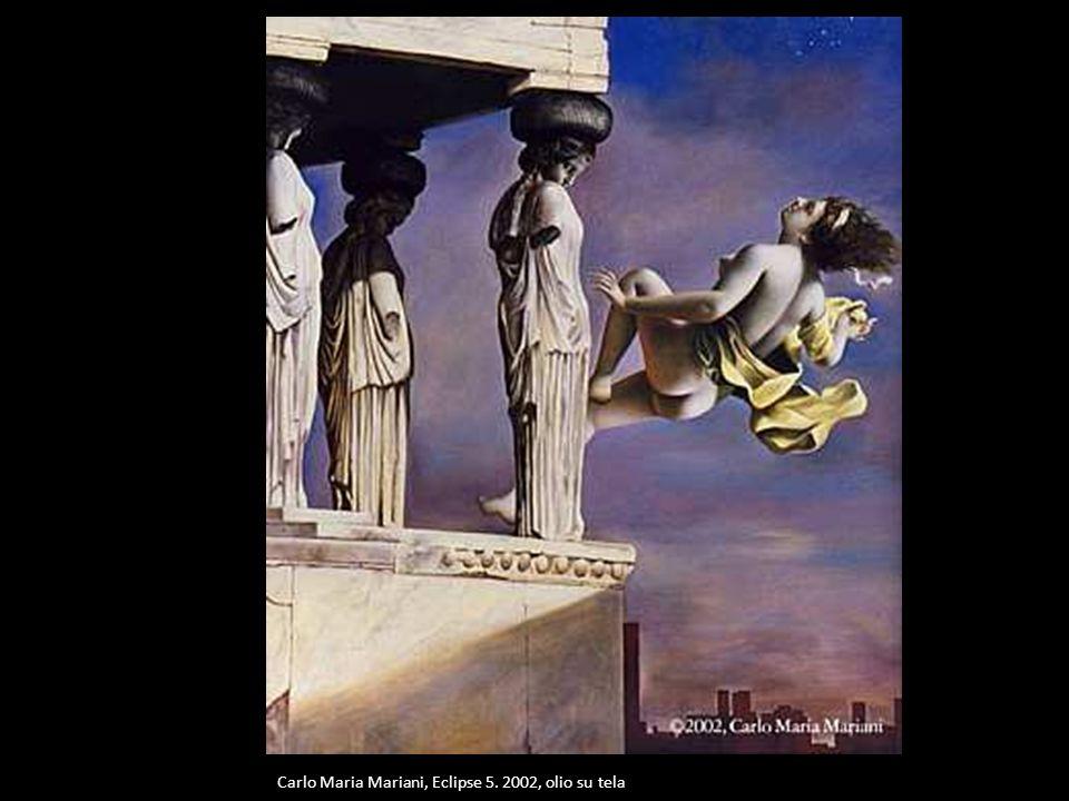 Carlo Maria Mariani, Eclipse 5. 2002, olio su tela