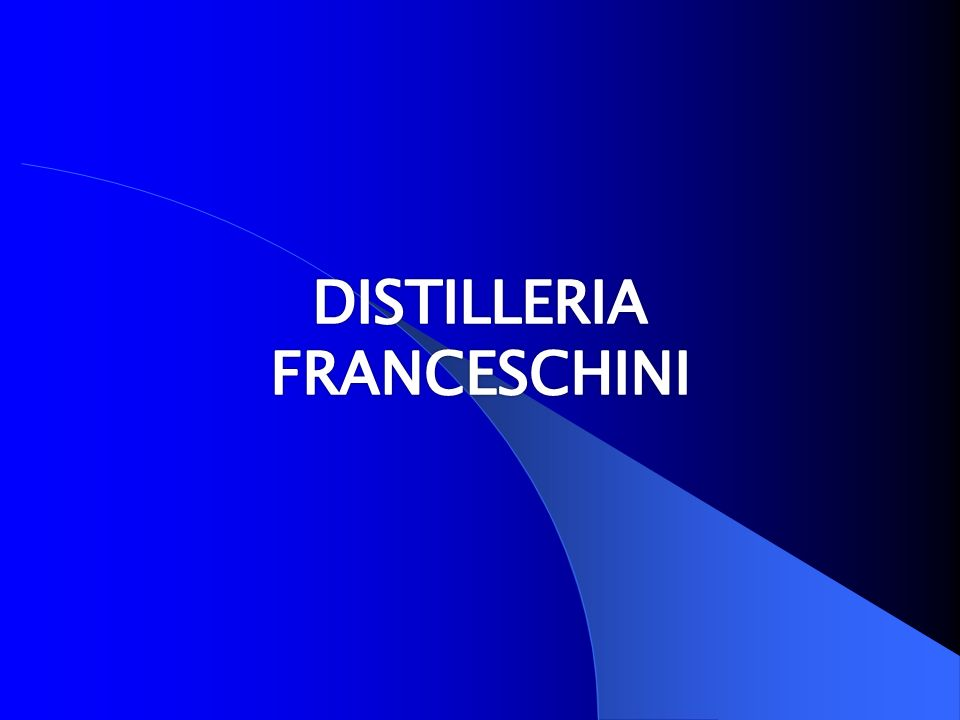 DISTILLERIA FRANCESCHINI