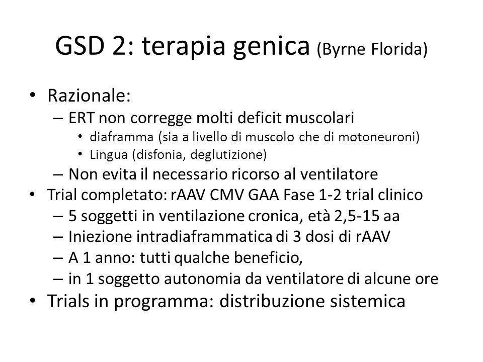 GSD 2: terapia genica (Byrne Florida)