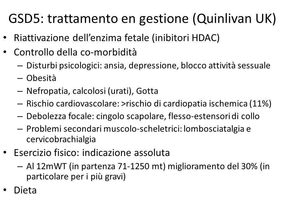 GSD5: trattamento en gestione (Quinlivan UK)