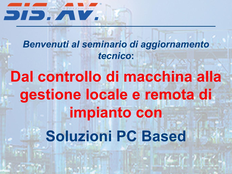 Benvenuti al seminario di aggiornamento tecnico: