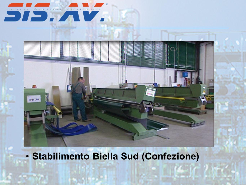 Stabilimento Biella Sud (Confezione)