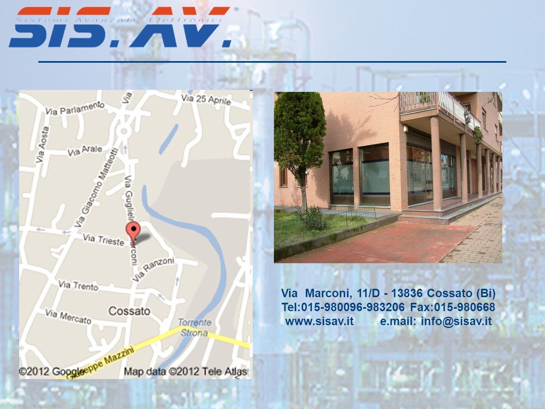 www.sisav.it e.mail: info@sisav.it