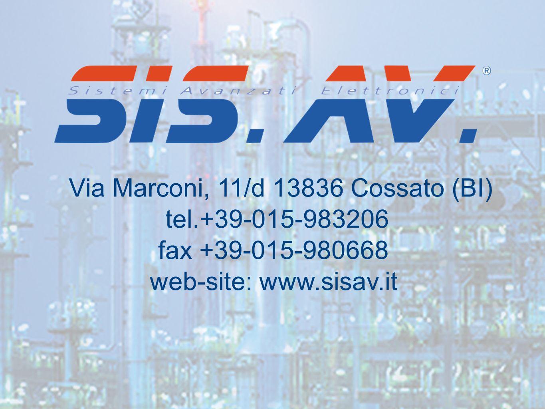 Via Marconi, 11/d 13836 Cossato (BI)
