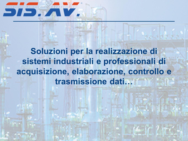 Soluzioni per la realizzazione di sistemi industriali e professionali di acquisizione, elaborazione, controllo e trasmissione dati…
