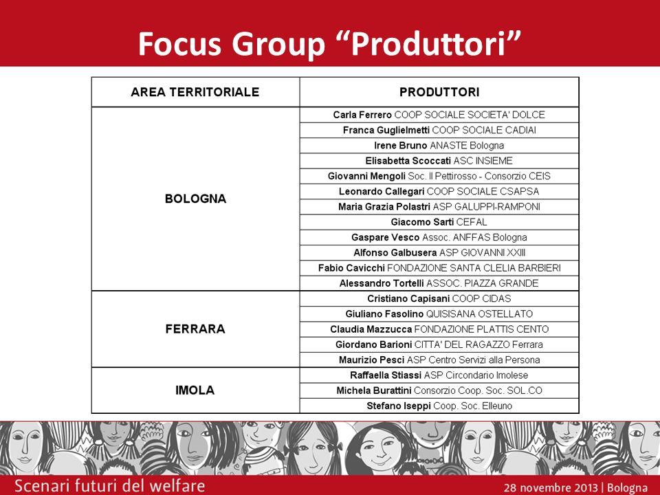 Focus Group Produttori