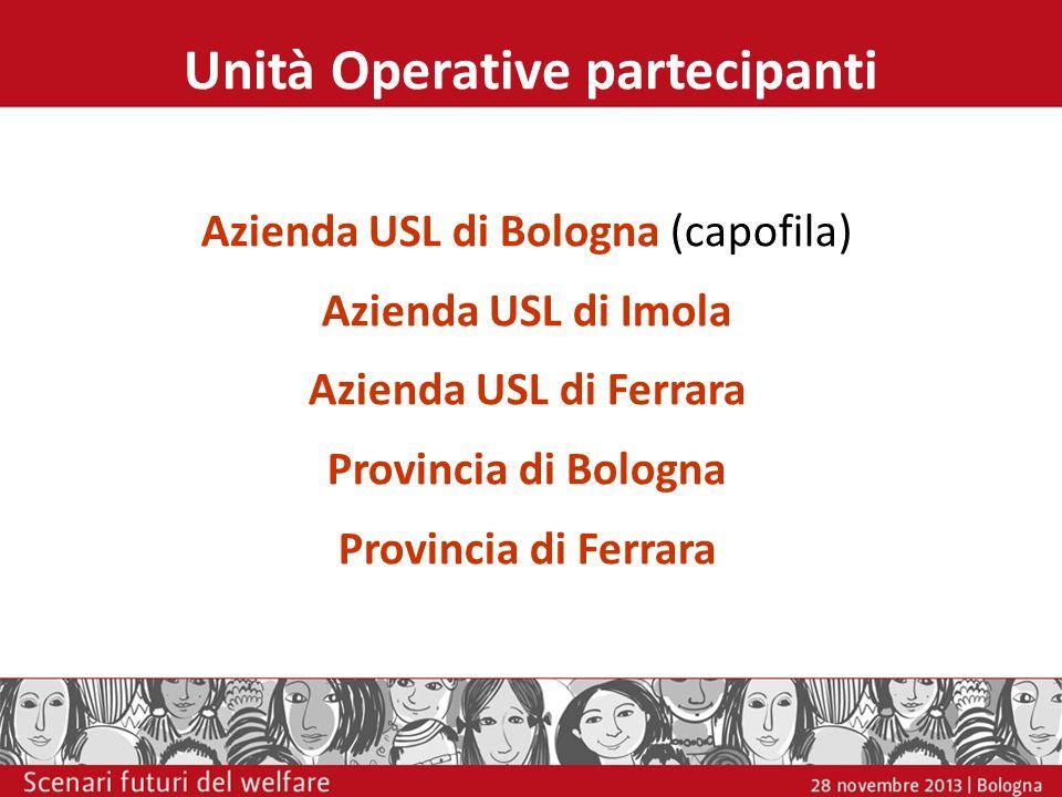 Unità Operative partecipanti